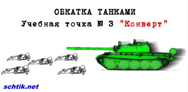 Обкатка танком