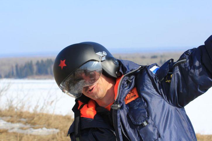 Защитный шлем летчика
