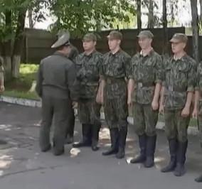 "Кадр из фильма ""Солдаты"""