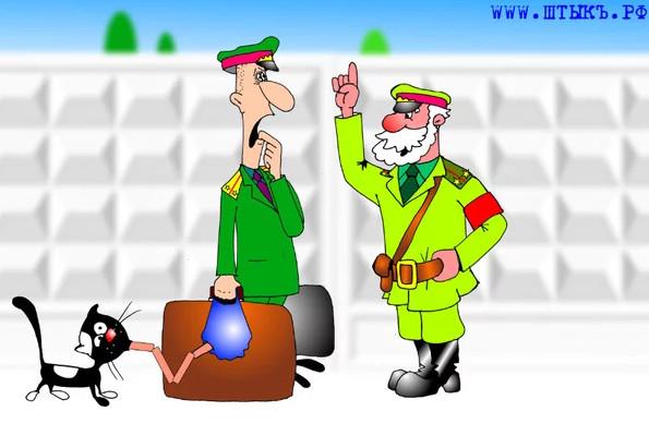 Карикатура из газеты сатиры и юмора ШТЫКЪ
