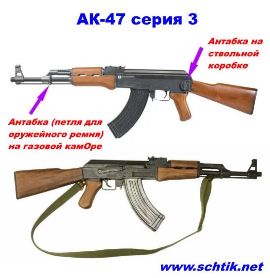 Какой автомат изображен на гербах, эмблемах, монетах? АК-47