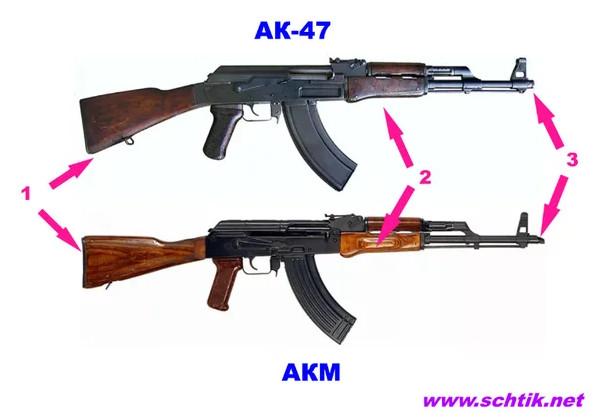 Какой автомат изображен на гербах, эмблемах, монетах? АК-47. АКМ