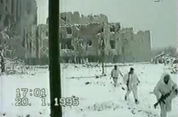 Фото из личного архива . Чечня, 1995 г.