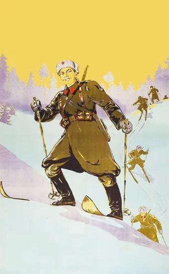 Авторский коллаж по мотивам плаката СССР