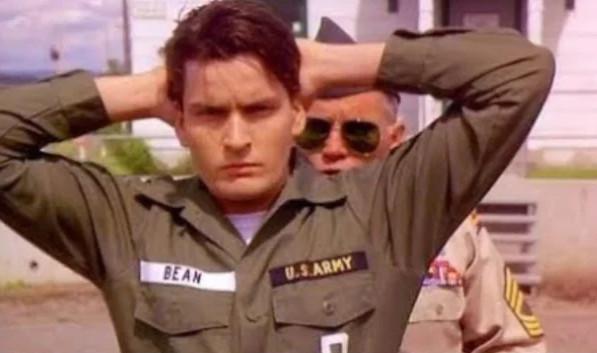 """Дисциплина в армии: кадр из фильма """"Дисбат"""", США, 1989 г."""