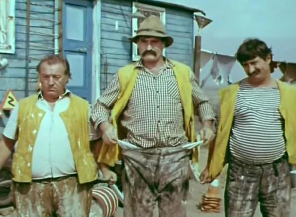 """Кадр из кинокомедии """"Дорога"""", Грузия-фильм, СССР, 1974 г."""