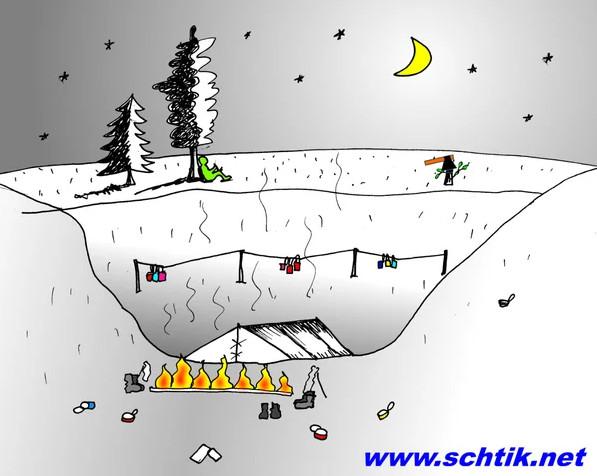 Иллюстрация - загадка: рисунок дневки