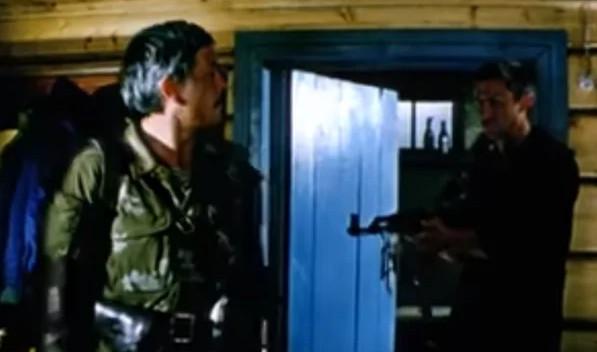 """Кадр из фильма """"В зоне особого внимания"""", СССР"""