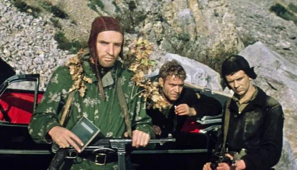 """Кадр из фильма """"Один шанс из тысячи"""", СССР, 1968 г."""