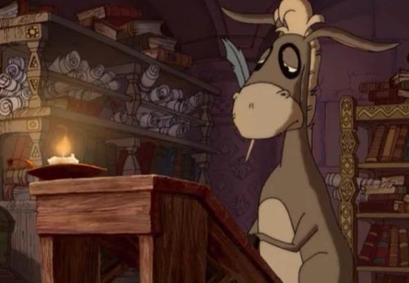 Кадр из мультфильма «Алеша Попович и Тугарин-змей»