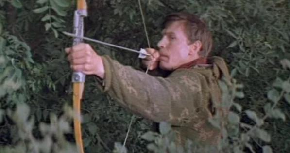 """Кадр из фильма """"Отряд особого назначения"""", СССР, 1978 г."""