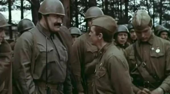 """Кадр из фильма """"Взять живым"""", СССР, 1982 год"""