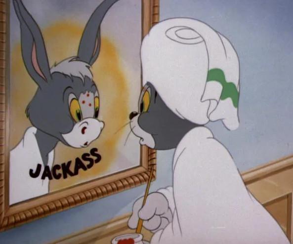 """Кадр из м/с """"Том и Джерри"""", США, 1987 г."""