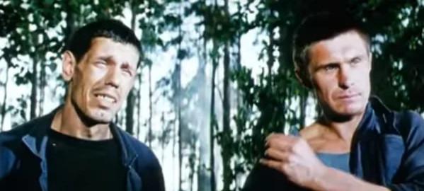 """Кадр из фильма """"В зоне особого внимания"""", СССР, 1977 г."""