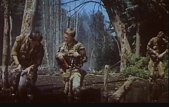 """Кадры из фильма """"В зоне особого внимания"""", СССР, 1978 г."""