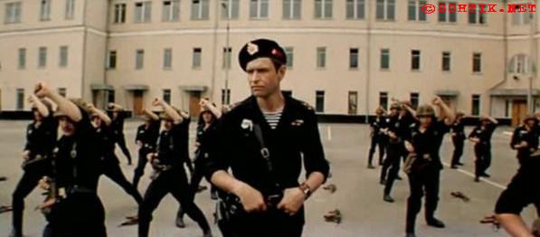 """Кадр из фильма """"Ответный ход"""", СССР, 1981 г."""