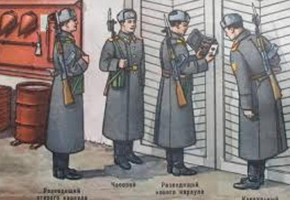 Репродукция с плаката об организации Г и КС, МО СССР, 1973 г.