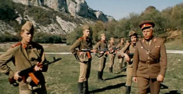 """Кадры из фильма """"Ответный ход"""", СССР, 1981 г."""