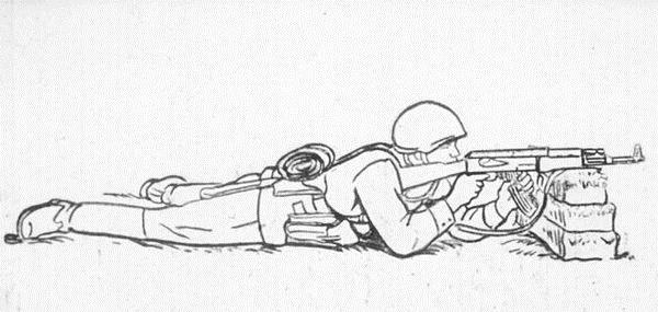 """Иллюстрация из книги """"Одиночная подготовка разведчика"""", СССР, 1987 г."""