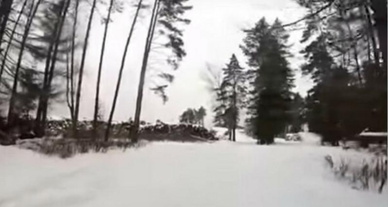 Армейский спецназ в зимних условиях. Зима. Фото