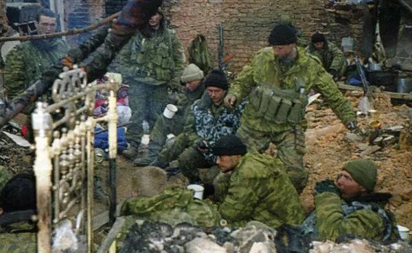 "Кадр из к/ф ""Чистилище"", Россия, 1996 г."