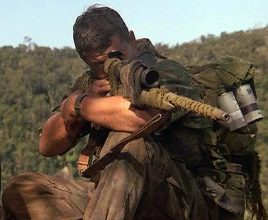 "Кадр из фильма ""Снайпер"", США, 1993 г."