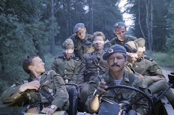 """Кадр из фильма """"В зоне особого внимания"""", СССР, 1977 год"""