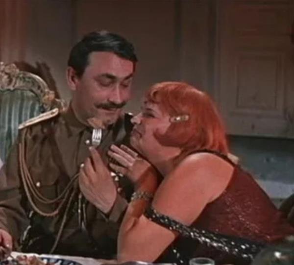 """Кадры из фильма """"Свадьба в Малиновке"""" , 1967 г"""