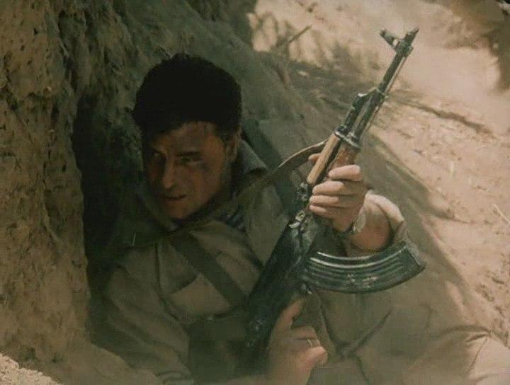 """Кадр из фильма """"афганский излом"""""""